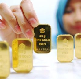 Emas Antam Masih Betah Bertengger Di Angka 592 Ribu