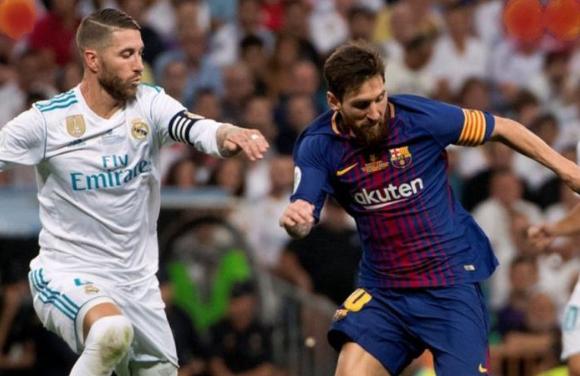 Madrid Melawan Barcelona, Sergio Ramos Lempar Pujian Untuk Lionel Messi